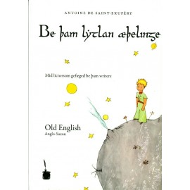 El principito old English. Be bam lytlan aebelinge