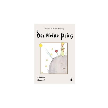 Der keine prinz (fraktur). El principito alemán (letra gótica)