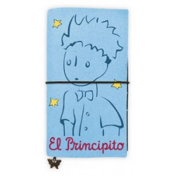 El principito. Cuaderno azul grande