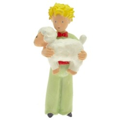 El principito con oveja figura 7 cm.