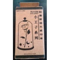 Principito sello madera rosa