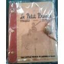 Principito cuaderno vintage con cierre